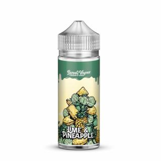 Sweet Vapes Lime And Pineapple Shortfill