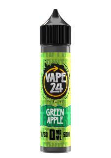 Vape 24 Fruits Green Apple Shortfill