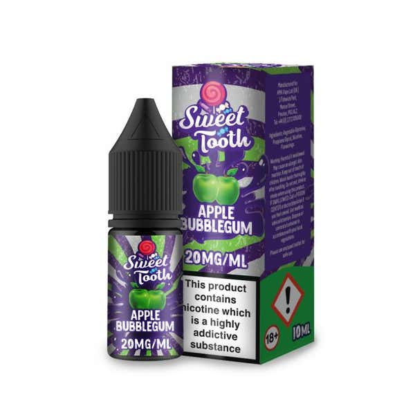 Apple Bubblegum Nicotine Salt by Sweet Tooth