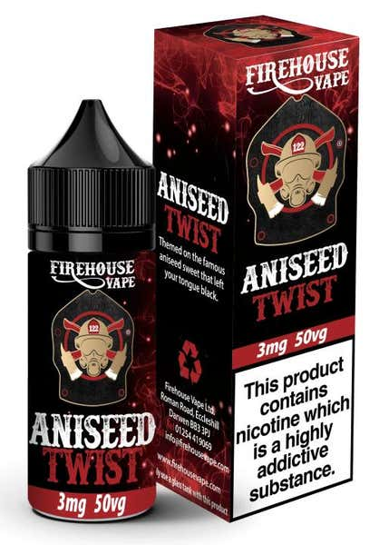 Aniseed Twist Regular 10ml by Firehouse Vape