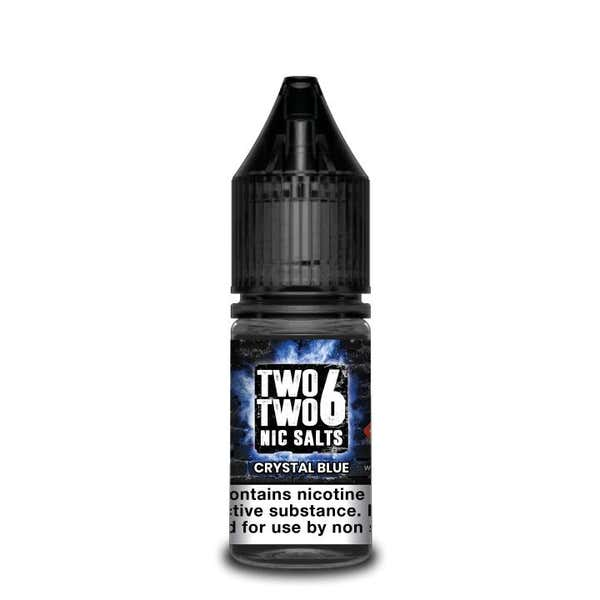 Crystal Blue Nicotine Salt by Two Two 6