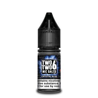 Two Two 6 Crystal Blue Nicotine Salt