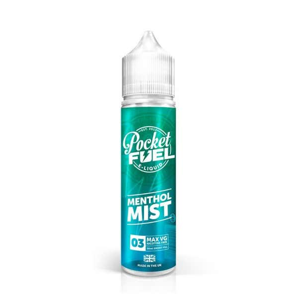 Menthol Mist Shortfill by Pocket Fuel