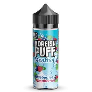 Moreish Puff Blueberries & Raspberries Menthol Shortfill