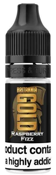 Raspberry Fizz Regular 10ml by Britannia Gold