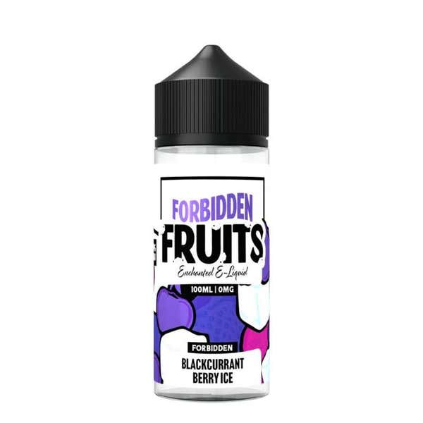 Blackcurrant Berry Ice Shortfill by Forbidden Fruits