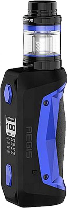 BlueAlloy, Leather & Silicone Aegis Solo Vape Device by GeekVape