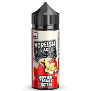 Moreish Puff Strawberry & Banana Custard Shortfill
