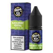 Blackcurrant Menthol Regular 10ml by Vape 50