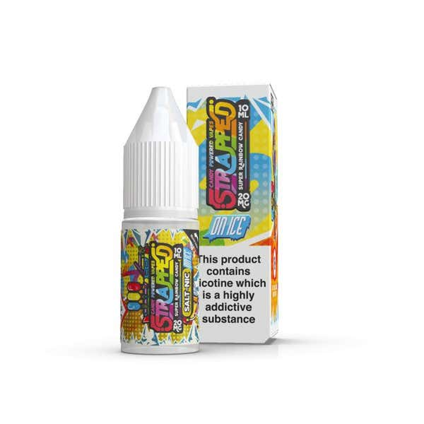 Super Rainbow Candy On Ice Nicotine Salt by Strapped