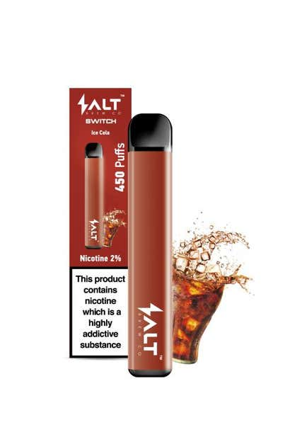 Ice Cola Disposable by Salt Switch