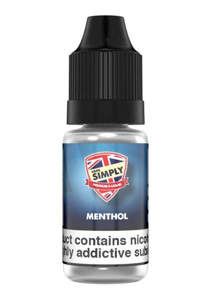 Menthol Regular 10ml by Vape Simply