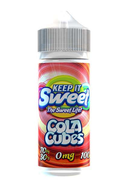 Sweet Cola Cubes Shortfill by Keep It Sweet