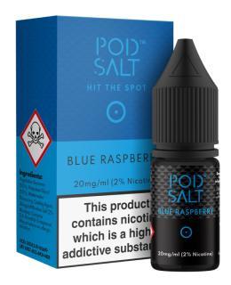Pod Salt Blue Raspberry Nicotine Salt