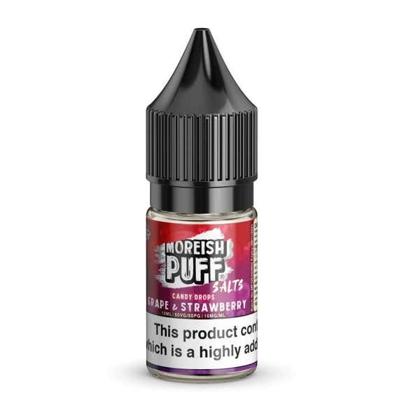 Grape & Strawberry Candy Drops Nicotine Salt by Moreish Puff