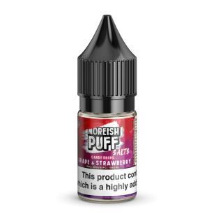 Moreish Puff Grape & Strawberry Candy Drops Nicotine Salt