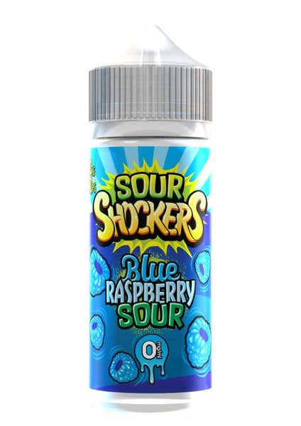 Blue Raspberry Sour Shortfill by Sour Shockers