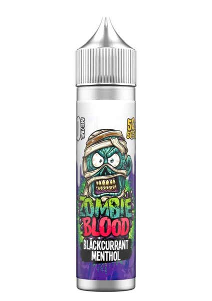 Blackcurrant Menthol Shortfill by Zombie Blood