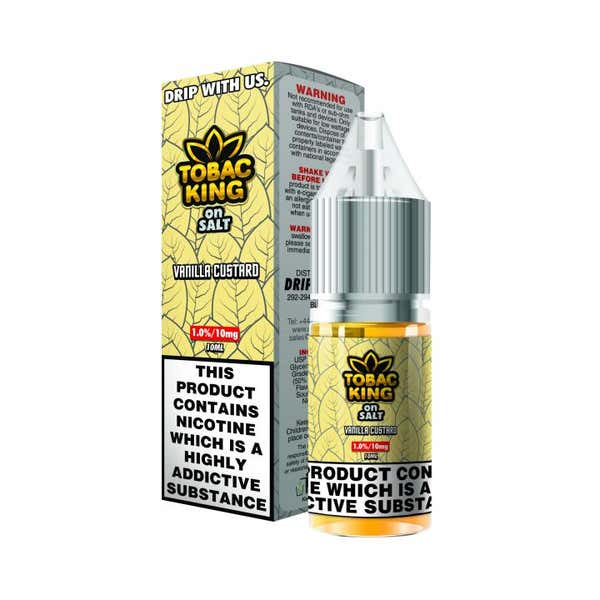 Vanilla Custard Nicotine Salt by Tobac King