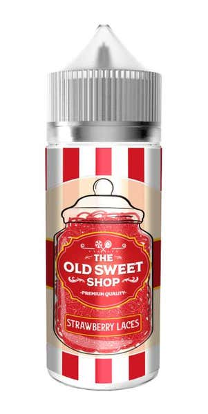 Strawberry Laces Shortfill by The Old Sweet Shop