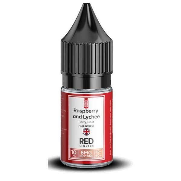 Raspberry & Lychee Regular 10ml by RED