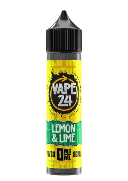 Lemon & Lime Menthol Shortfill by Vape 24