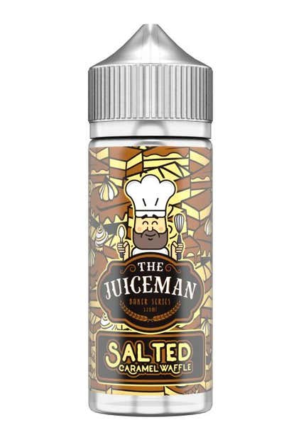 Salted Caramel Waffle Shortfill by The Juiceman