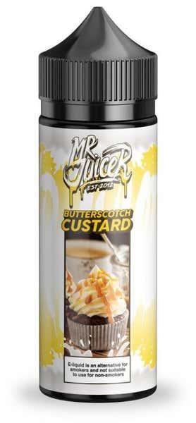 Butterscotch Custard Shortfill by Mr Juicer