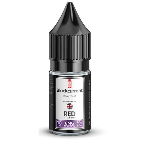 Blackcurrant Regular 10ml by RED Liquids