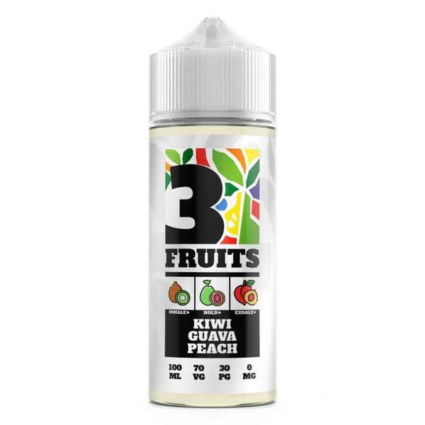 Kiwi, Guava, Peach Shortfill by 3 Fruits