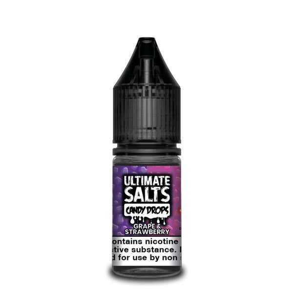 Candy Drops Grape & Strawberry Nicotine Salt by Ultimate Puff