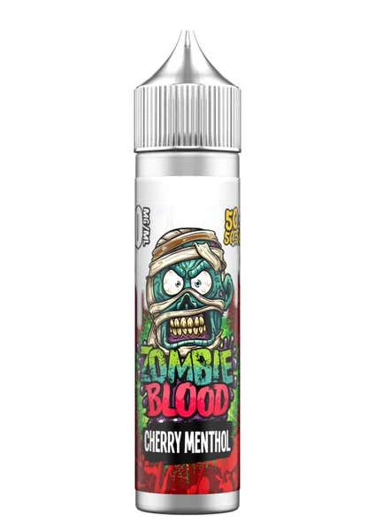 Cherry Menthol Shortfill by Zombie Blood