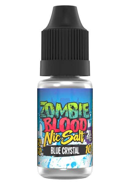 Blue Crystal Nicotine Salt by Zombie Blood