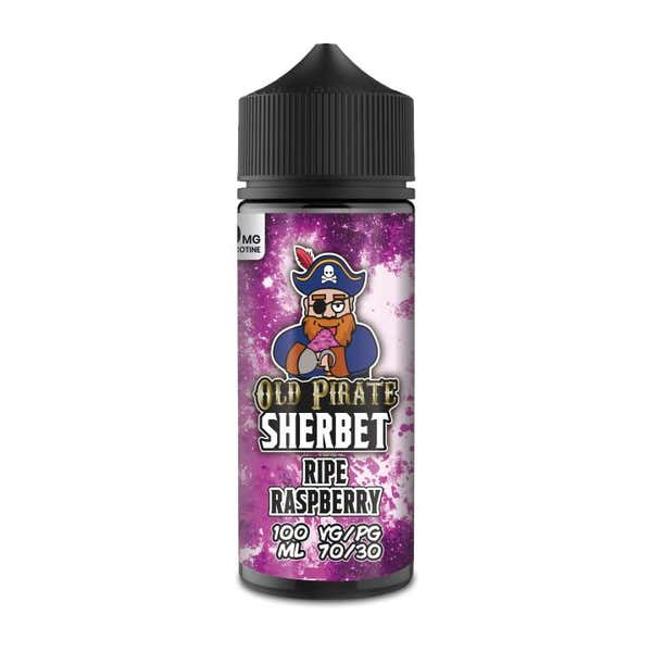 Sherbet Ripe Raspberry Shortfill by Old Pirate
