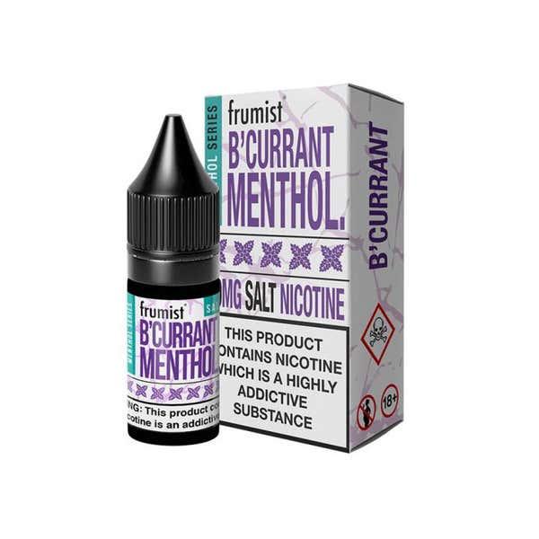 BCurrant Menthol Nicotine Salt by Frumist