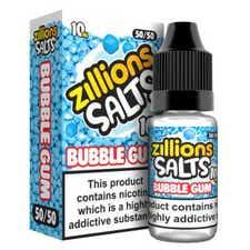 Bubblegum Nicotine Salt by Zillions
