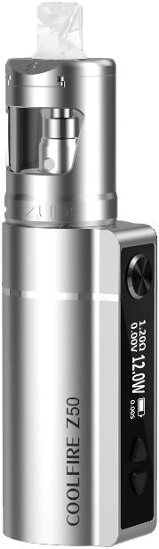 SilverZinc Alloy CoolFire Z50 Vape Device by Innokin