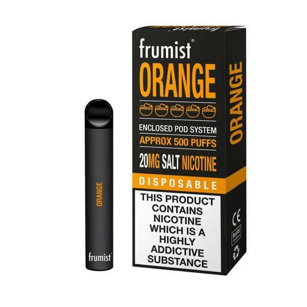 Orange Disposable by Frumist