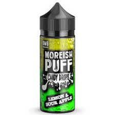 Lemon & Sour Apple Candy Drops Shortfill by Moreish Puff