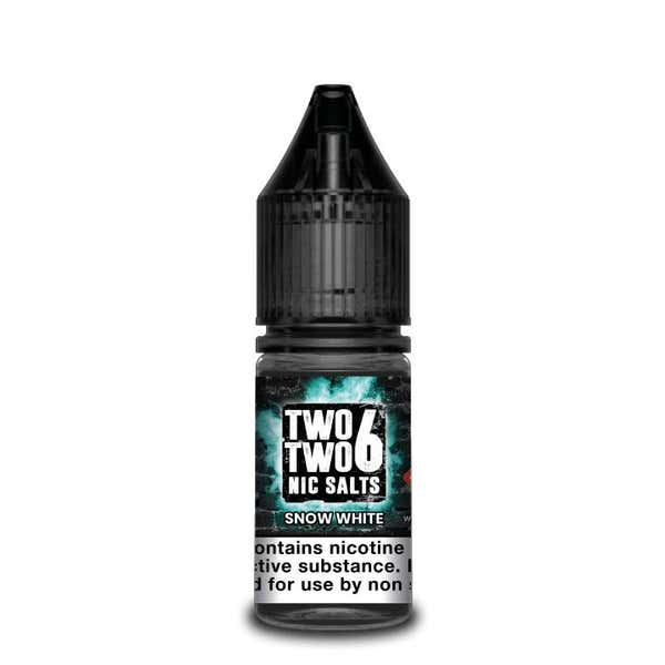 Snow White Nicotine Salt by Two Two 6