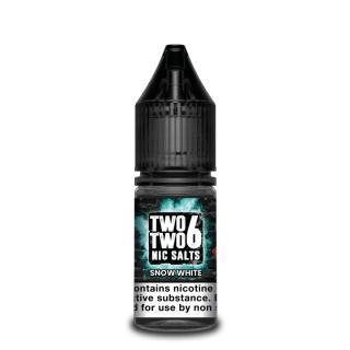 Two Two 6 Snow White Nicotine Salt