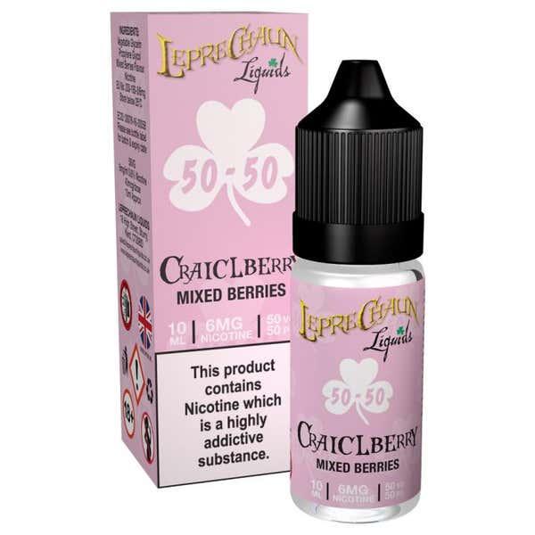 Craiclberry Regular 10ml by Leprechaun Liquids