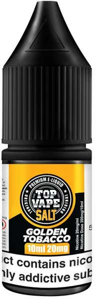 Golden Tobacco Nicotine Salt by Top Vape