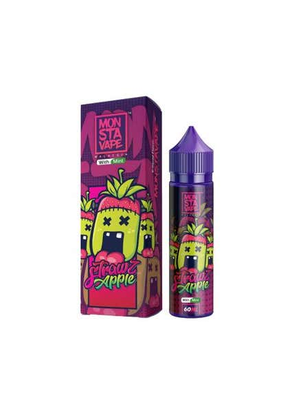 Strawz Apple Mint Shortfill by Monsta Vape