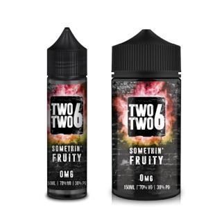 Two Two 6 Somethin Fruity Shortfill