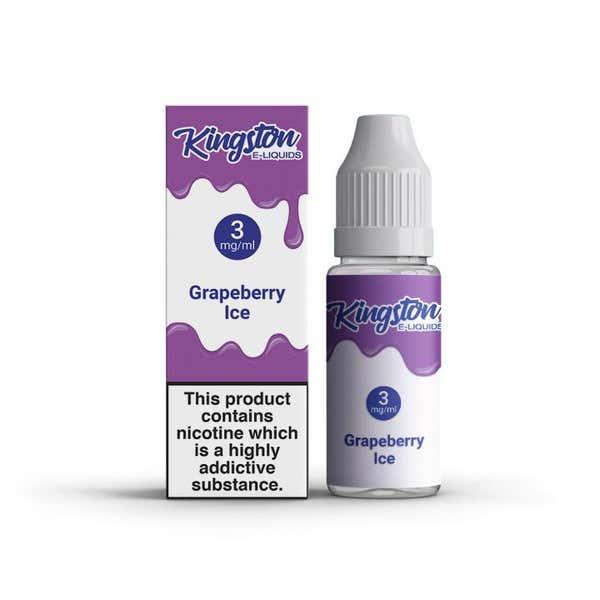 Grapeberry Ice Regular 10ml by Kingston e-Liquids