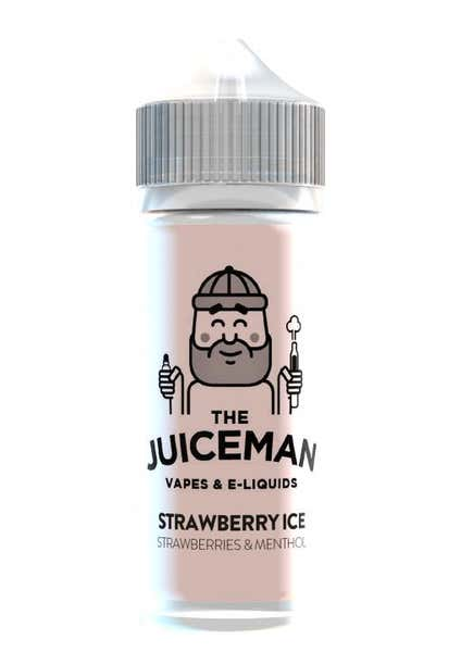 Strawberry Ice Shortfill by The Juiceman