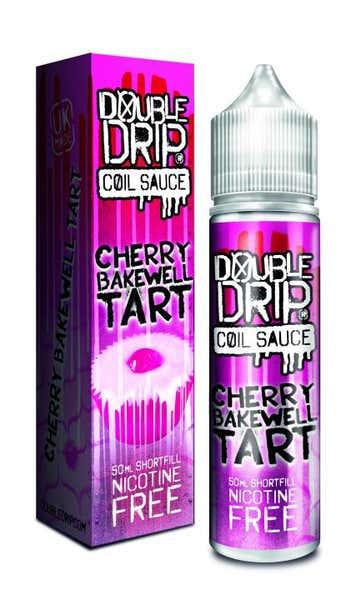Cherry Bakewell Tart Shortfill by Double Drip
