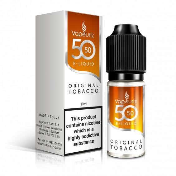 Original Tobacco Regular 10ml by Vapouriz