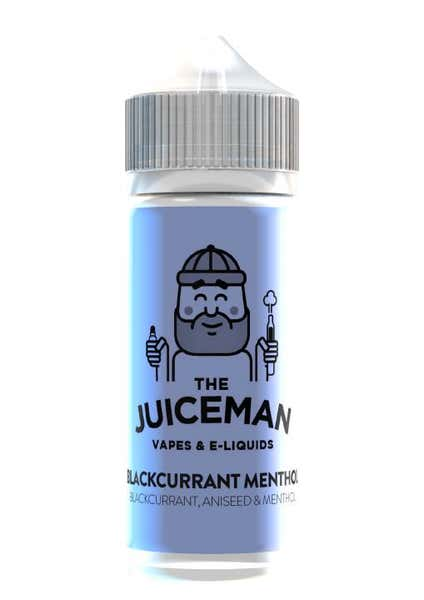 Blackcurrant Menthol Shortfill by The Juiceman